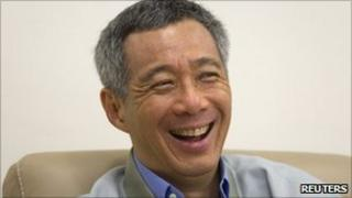 Singapore Prime Minister Lee Hsien Loong, in a file image from 2 November 2010