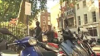 Westminster bike parking sign