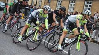 The Tour of Britain arrives in Great Yarmouth in 2010