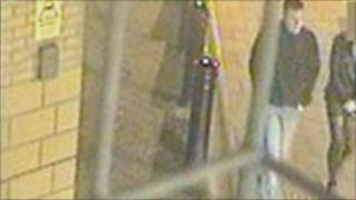 Suspect on CCTV