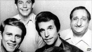Members of the Happy Days cast