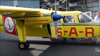 Channel Islands Air Search plane