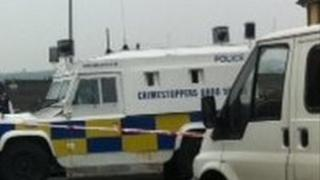Police attend security alert in Londonderry