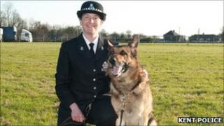 Pc Appleby and Victor