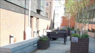 City centre peace garden