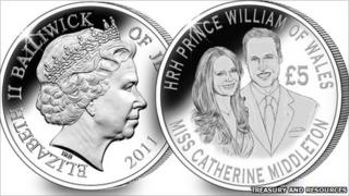 Commemorative £5 coin