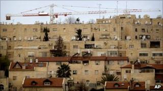 Cranes in Gilo, East Jerusalem