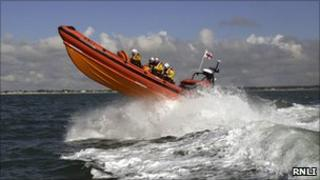 RNLI Atlantic 85 inshore lifeboat