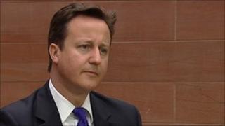 David Cameron, at BBC Scotland