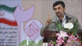 Mahmoud Ahmadinejad, 9 April