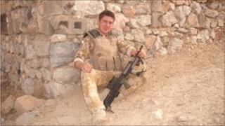 Lance Corporal Dan Stone, 3 Rifles