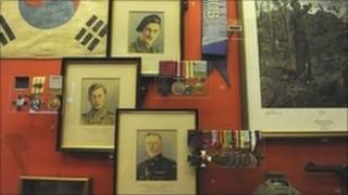 The Imjin 60 exhibition at the Soldiers of Gloucestershire Museum