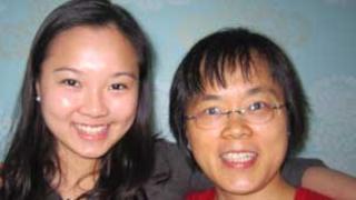 Susan Chen and her mum Barbara
