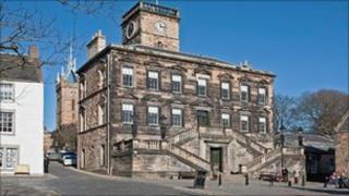 Burgh Halls in Linlithgow