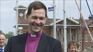 The Right Reverand Nigel Stock, Bishop of St Edmundsbury & Ipswich