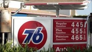 Gas prices March 2011
