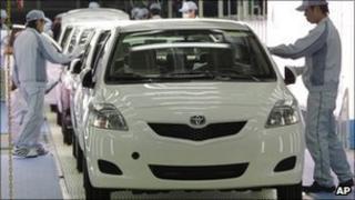 Toyota production line