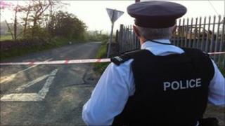 Police cordon south Armagh