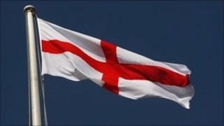 The St George flag