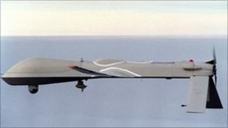 US Predator drone (file)