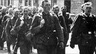 Wehrmacht soldiers 1940 (file image)
