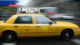 New York taxi (file image)
