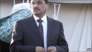 Mohamed Ould Abdelaziz pictured on 10 April 2011