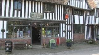 Chiddingstone shop