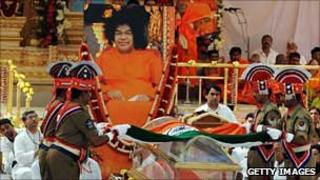 Funeral of Sai Baba