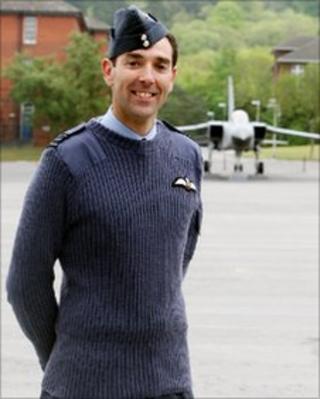 Wing Commander Kevin Marsh