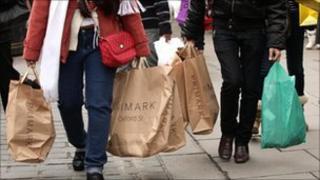 Primark shoppers