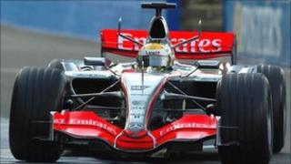 F1 racing car.