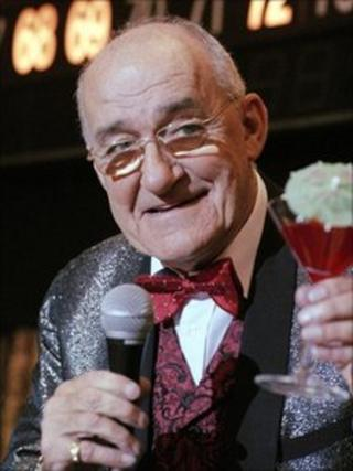 Jim Bowen when he appeared in The Afternoon Play : Viva Las Blackpool