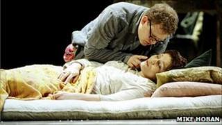 Scene from Puccini's La Boheme