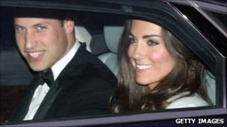 Prince and Princess William of Wales