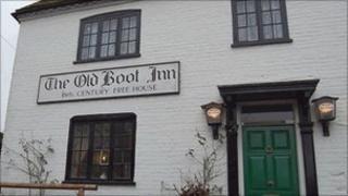 Old Boot Inn pub