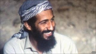 Osama Bin Laden in Jalalabad area of Afghanistan in 1988