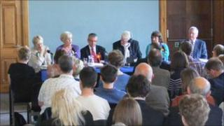 BBC Scotland Hustings debate in Inverness