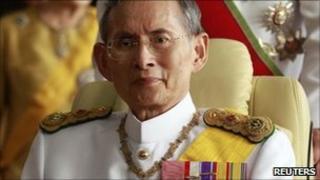 Thai King Bhumibol Adulyadej, Bangkok (Dec 2010)