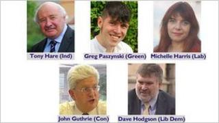 Bedford's mayoral candidates