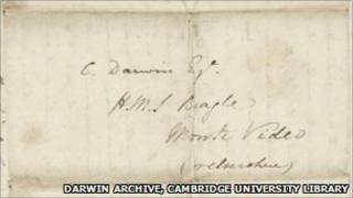Letter from John Stevens Henslow to Charles Darwin