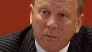 Traditional Unionist Voice party leader Jim Allister