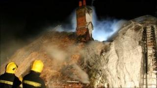 Havant thatch fire