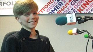 Britain's Got Talent star Ronan Parke