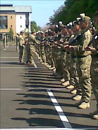 The Royal Highland Fusiliers, 2nd Battalion, The Royal Regiment of Scotland (2 SCOTS) (Pic: Morag Kinniburgh)
