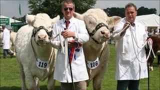 Competitors at Shropshire County Show