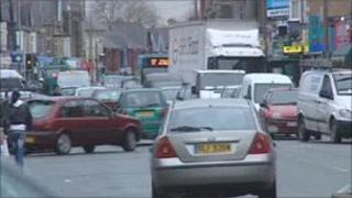 Congestion in Cardiff