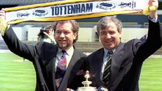 Alan Sugar and Terry Venables