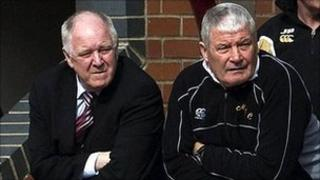 Craig Brown and Archie Knox