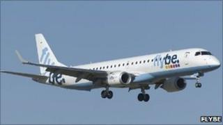 Flybe aircraft. Pic: Flybe
